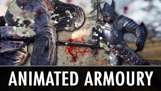 Skyrim: Animated Weapon Mods
