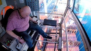 The dizzying view from Halifax's shipping cranes