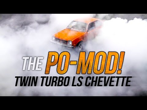 The Po-Mod! Twin Turbo LS Chevette - LS Fest West