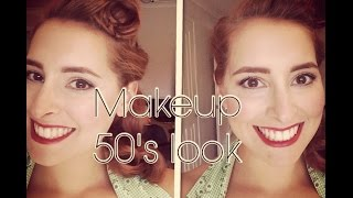 Basic 1940s Style Vintage Inspired Makeup Tutorial