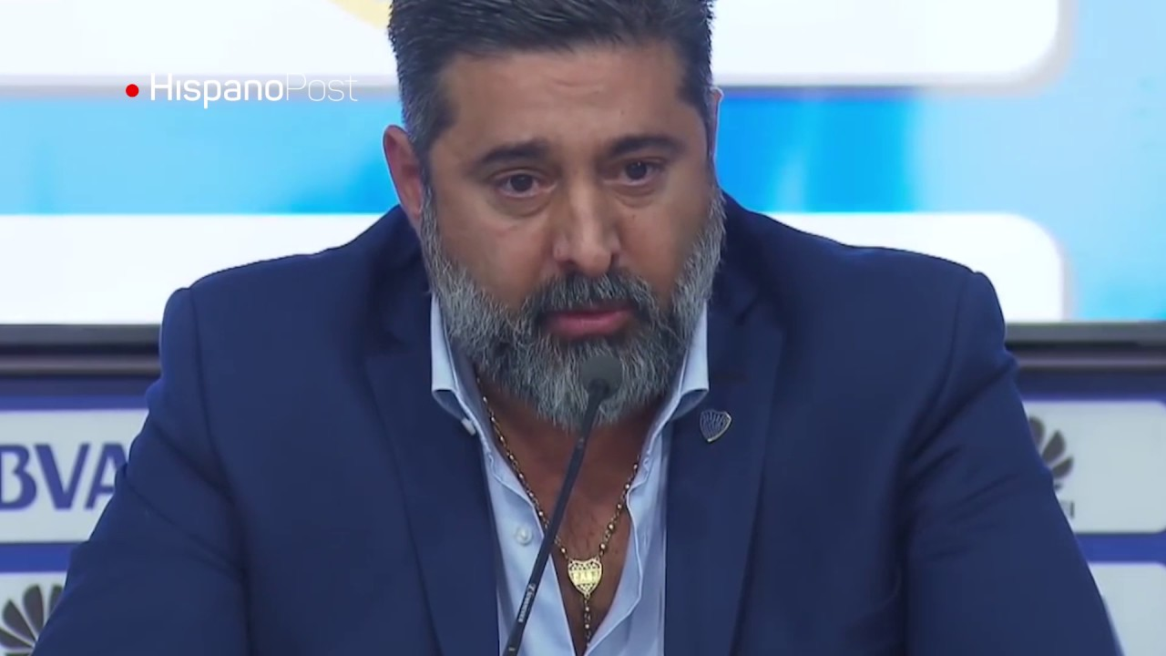 "Presidente de Boca Junior está ""offside"""