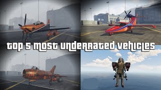 GTA Top 5 Most Underrated Vehicles everyone should own and Why