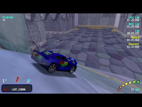 Re-Volt Custom Track Autumn Castle by ThePotatoHead, mrroblinx, and CapitaineSZM, 8 Runs