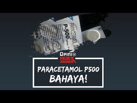 Video HOAX SABER | PARACETAMOL P500 BAHAYA!