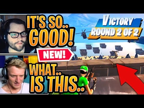"""Streamer First Time Playing the *NEW* """"Beach Assault"""" LTM! (Defending/Attack the Beach) - Fortnite"""