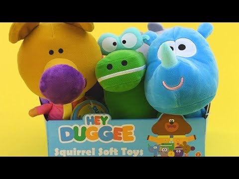 Talking Tag Soft ToyTag the RhinoHey Dugee PlushHey Duggee Toys
