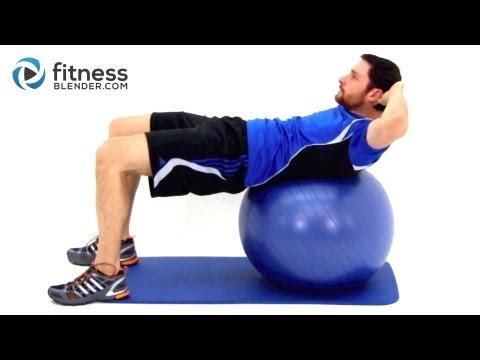 Promovideo: Gymnastický míč TUNTURI 65 cm modrý