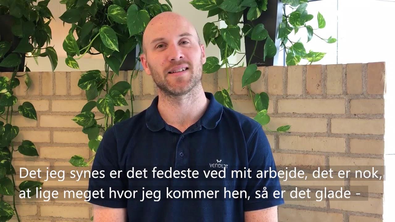 Mød en medarbejder hos Vendlet - Henrik