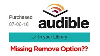 How to Remove Purchased Books from Audible Wish List