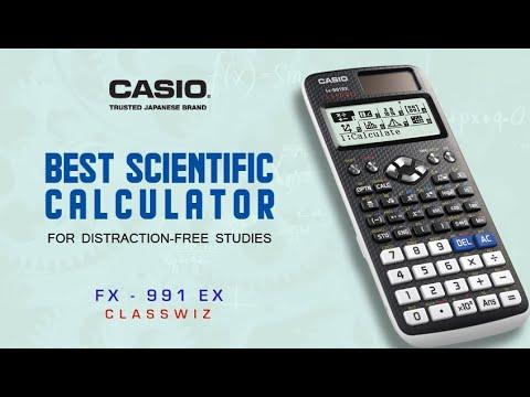 The Best scientific calculator for online studies | Casio FX-991EX Classwiz