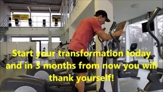 LOSE WEIGHT FAST with HIIT!!! 15 Min Fatburning Crosstrainer Workout