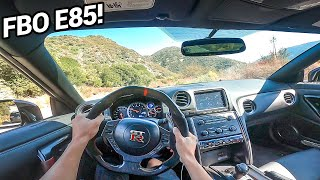 700HP NISSAN GTR - POV DRIVE!! (Loud Exhaust!)
