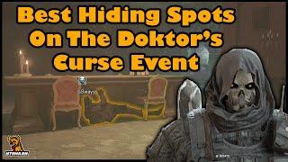 Best Hiding Spots On The Doktor's Curse Halloween Event   Rainbow Six Siege Operation Ember Rise