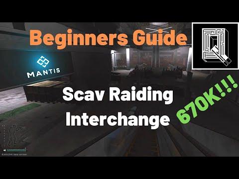 Beginners Guide - How To Make Money On Scav Raids On