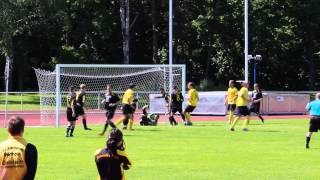 preview picture of video 'Bornaer SV 91 - FSV Alemannia Geithain | Kopfball in die Arme des Hüters'