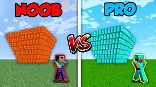 Minecraft NOOB vs. PRO: LAVA vs. WATER TSUNAMI in Minecraft!