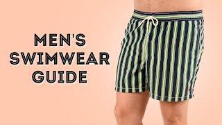Mens Swimwear Guide - Bathing Suits For Gentlemen: Trunks, Briefs & Speedos
