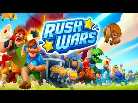 Rush Wars на андроид ОБЗОР