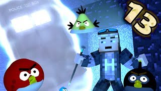 ANGRY MINECRAFT 13!  [Angry Birds 3D Minecraft Animation]