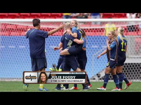 Julie Foudy on The Dan Patrick Show (Full Interview) 8/15/16
