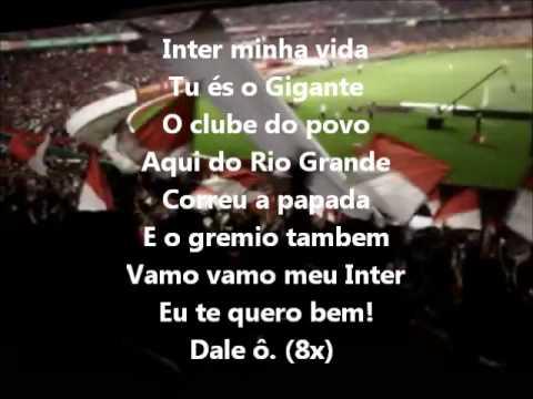 """Tu És o Gigante"" Barra: Guarda Popular • Club: Internacional"