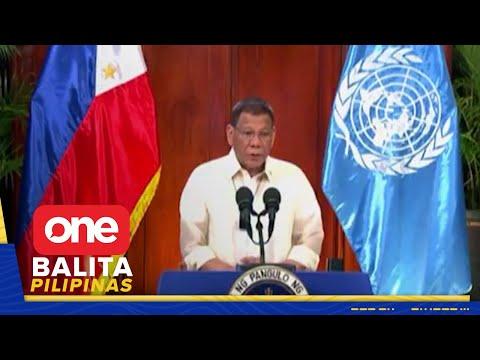 [News5]  Arbitral win ng Pilipinas sa WPS, iginiit ni Pres. Duterte sa UNGA