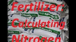 Fertilizer Application - Info on How Much fertilizer to spread