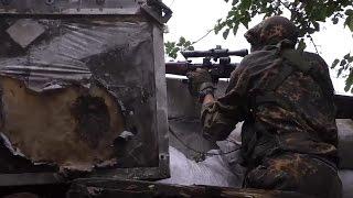 Охота на снайперов ВСУ. Александровка, предместье Марьинки