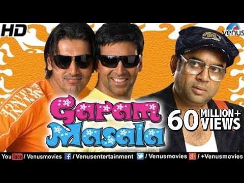 Garam Masala (HD) Full Movie | Hindi Comedy Movies | Akshay Kumar Movies | Latest Bollywood Movies