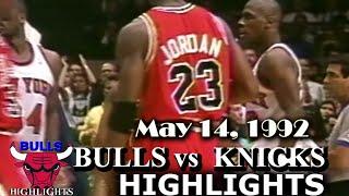 May 14, 1992 Bulls Vs Knicks Game 6 Highlights