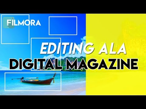 Tutorial Edit Intro Digital Magazine Video (Smooth Slide Box Effect)