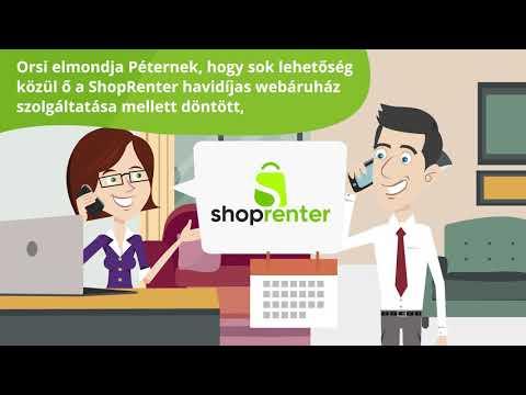 Shoprenter - Termékvideó
