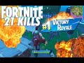 21 Bomb Solo vs Solo - Fortnite Battleroyale