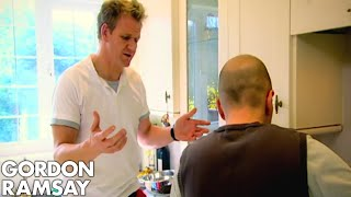 Teaching A Cab Driver The Basics of Cooking - Gordon Ramsay