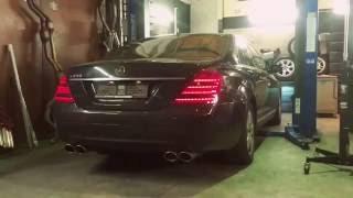 Mercedes S500 LOUD BRUTAL SOUND