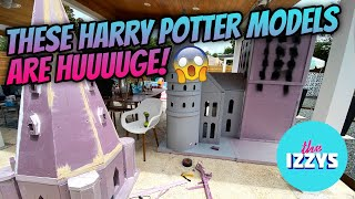 You Won't Believe How HUGE These Harry Potter Models Are