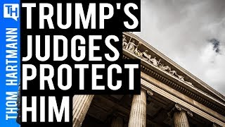 Are Donald Trump's Appointed Judges Protecting Him?