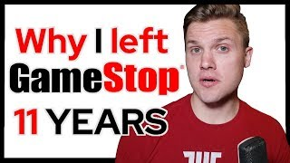 Why I Left Gamestop After 11 Years | HR INVESTIGATION