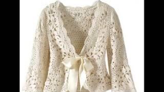 Mas BOLEROS De Variados Modelos Para Damas Tejidos A Crochet - SOLO IMAGENES