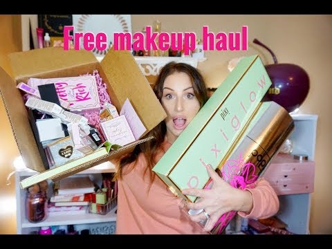 FREE NEW MAKEUP PR HAUL DECEMBER 2018