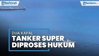 Bakamla Tangkap 2 Kapal Tanker Super Milik Iran dan Panama, Mahfud MD: Sedang Kita Proses Hukum