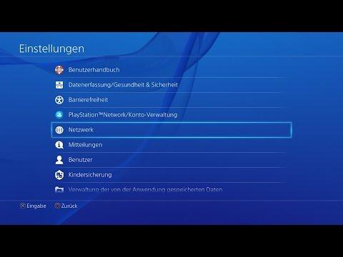 PS4 Tutorial: PSN Online Probleme beheben lösen , Netzwerk Fehler beheben in 2 Minuten Deutsch