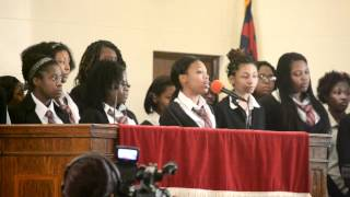 The Northeastern Academy Choir singing: Beams of Heaven/Someday