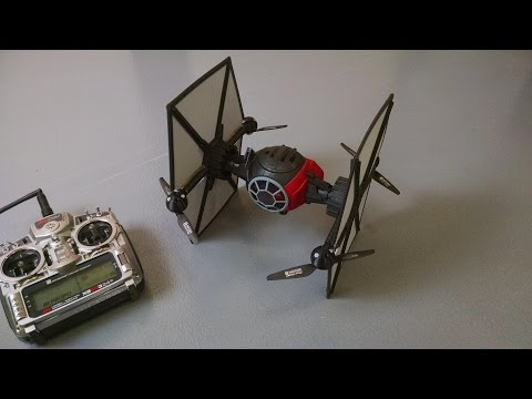 Badass Toy Hacker Converts Hasbro's New TIE Fighter Into A Flying Drone