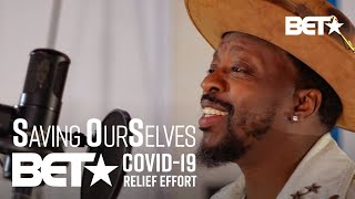 "Anthony Hamilton Performs Powerful Rendition Of ""Lean On Me"" By Bill Withers! 