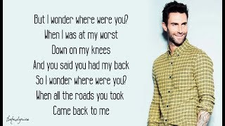 Maps   Maroon 5 (Lyrics) 🎵