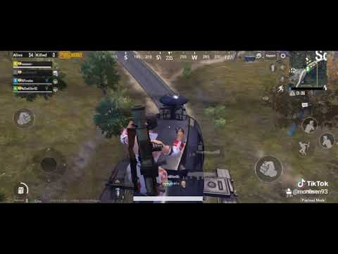 PUBG TIKTOK VIDEO HELICOPTER DANCE || Payload mode