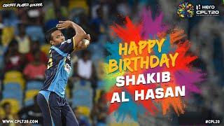 Happy Birthday Shakib Al Hasan | #CPL20 #HappyBirthday #BiggestPartyInSport #ShakibAlHasan
