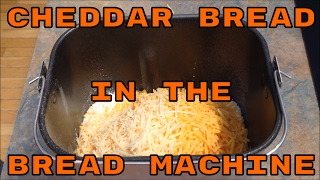 Cheddar Bread In The Bread Machine | #Leighshome