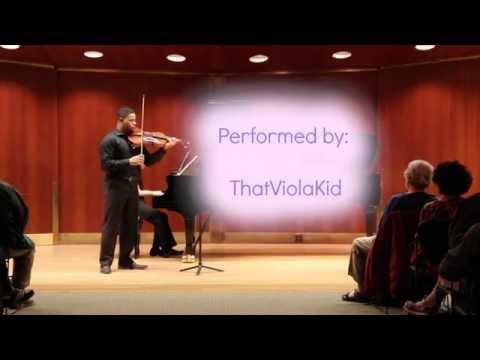 Recent recital performance at Juilliard